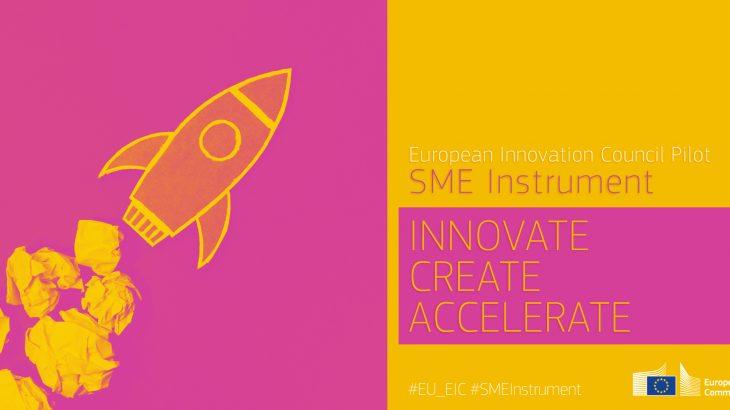 Obrazek przedstawiający logo programu SME instrument opisanego we wpisie pod tytułem Zmiany w programie SME instrument