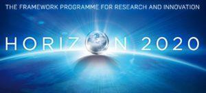 Obrazek przedstawia logo programu Horyzont 2020, którego narzędziem jest SME Instrument